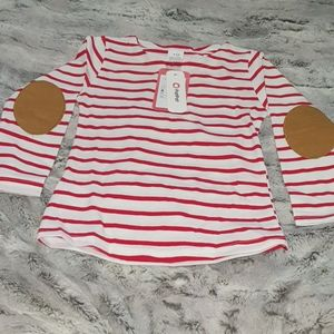 PatPat casual stripes long sleeve pullover